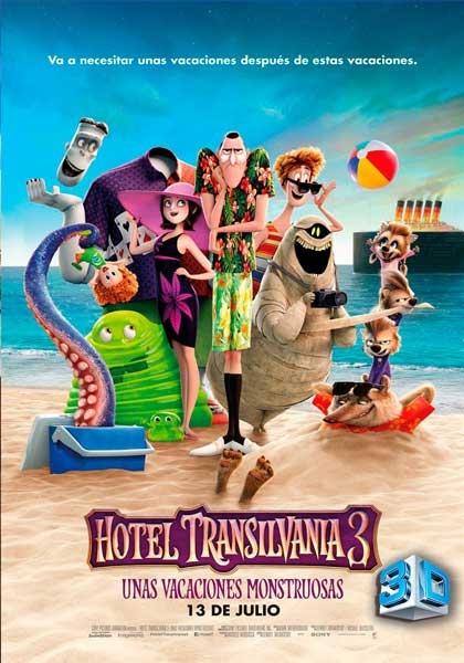 HOTEL TRANSILVANIA 3: UNAS VACACIONES MOSTRUOSAS - 3D