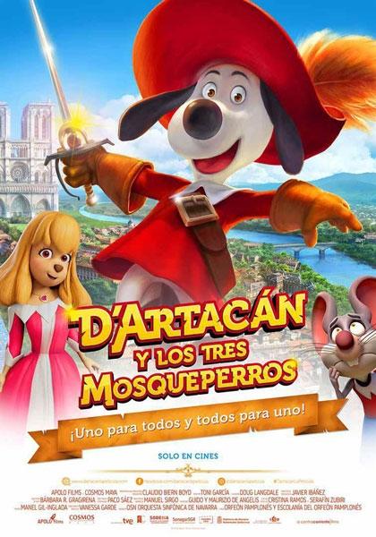 D`ARTACAN Y LOS TRES MOSQUEPERROS