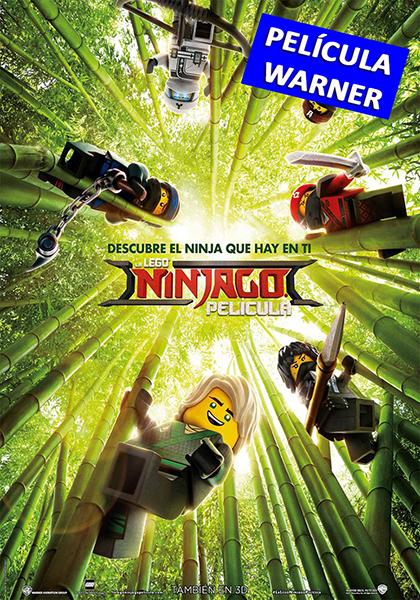 LA LEGO NINJAGO PELÍCULA - 3D