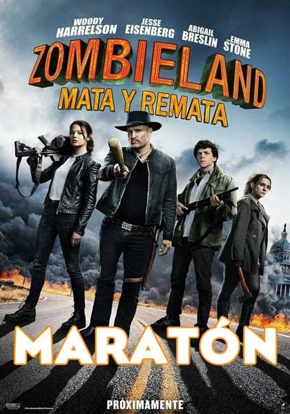 MARATÓN BIENVENIDOS A ZOMBIELAND + ZOMBIELAND: MATA Y REMATA