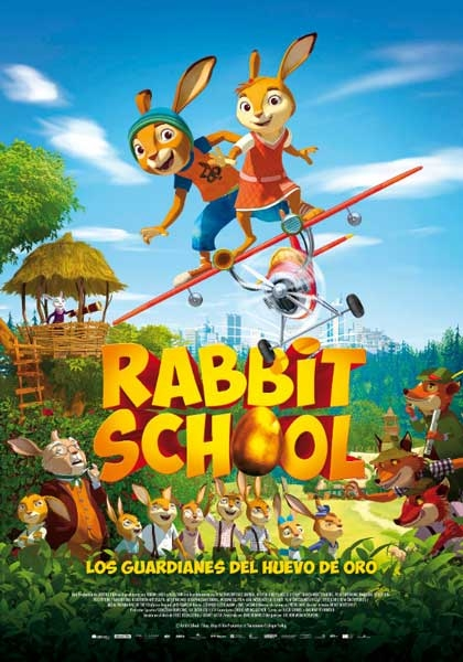 RABBIT SCHOOL, LOS GUARDIANES DEL HUEVO DE ORO