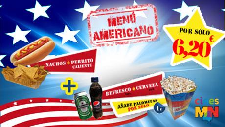 Menú Americano