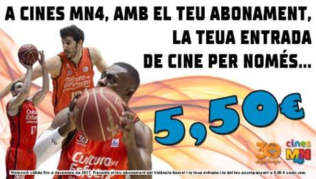 ABONADOS VALENCIA BASKET 2014-2015
