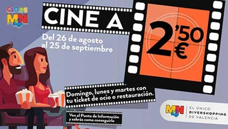 CINE A 2,50 €