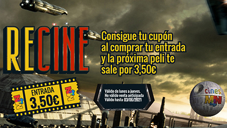 RECINE ENTRADA A 3,50